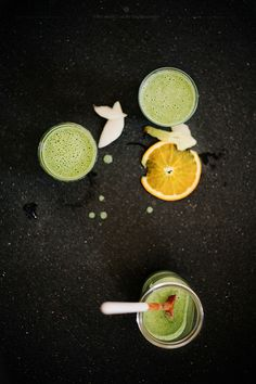 green smoothie with pear, arugula and ginger | What Should I Eat for Breakfast?