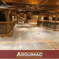 Trabajo finalizado con un trabajo súper artesanal, detallado y prolijo de 𝐏𝐨𝐫𝐜𝐞𝐥𝐚𝐧𝐚𝐭𝐨 𝐋í𝐪𝐮𝐢𝐝𝐨 en VacaMuerta, Neuquén. Industrial, Basketball Court, Flats