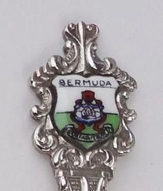 Collector Souvenir Spoon Bermuda Coat of Arms