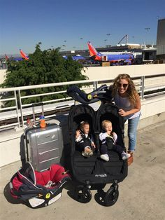 Babies on board! 5 things I wish I knew before flying with twins Toddler Travel, Travel With Kids, Baby Travel, Family Travel, Twin Mom, Twin Babies, Raising Twins, Double Strollers