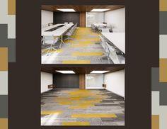 Diseño de alfombras para oficinas #DesignMatters #InteriorDesign #Carpet #Alfombras #AeI #Decoracion