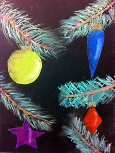 Shaded Christmas balls via artisan des arts: grade 5 Christmas Art For Kids, Christmas Art Projects, Christmas Arts And Crafts, Winter Art Projects, Christmas Balls, Christmas Ideas, Christmas Tree, Kid Projects, Christmas Ornaments