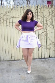 Spring outfits for chubby best outfits plus size outfits в 2019 г. Look Plus Size, Curvy Plus Size, Plus Size Girls, Plus Size Model, Chubby Fashion, Curvy Women Fashion, Plus Size Fashion, Girl Fashion, Nadia Aboulhosn