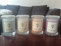 The Little Village Candle Company Candle Companies, Mason Jars, Goodies, 21st, Candles, Desserts, Food, Sweet Like Candy, Eten