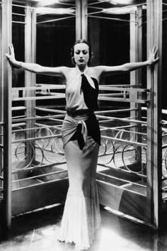 Joan Crawford Art Deco Look 24x36 Poster