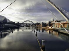Newcastle upon Tyne, Bridges, England, UK- my soon to be new home :)    #ridecolorfully