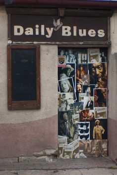 Daily Blues in Sopot. Old photo. Club is closed.