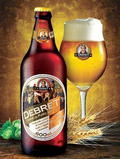 Cerveja Debret Puro Malte, estilo Standard American Lager, produzida por  Nao Cadastrada, Brasil. 4.7% ABV de álcool.