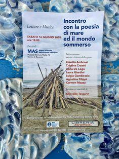 Incontro con la poesia di mare ed il mondo sommerso Ravenna, Books, Museum, Libros, Book, Book Illustrations, Libri