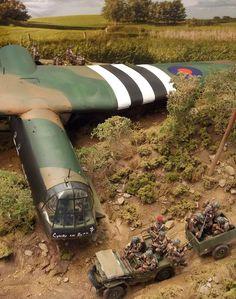 Die Horsa Glider der britischen Fallschirmtruppe waren im WW II an allen größeren Luftlandeoperationen beteiligt. Baubericht und Historie des Bronco Modells findet man hier!