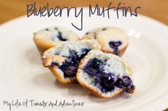 My Life of Travels and Adventures: Recipe: Blueberry Muffins