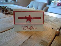 Stampin Up Kullerkarte mit Simply Stars