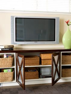 another entertainment center for the hubby