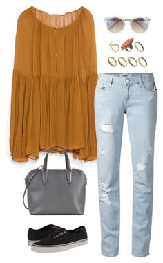 """""""Untitled #3076"""" by meandelstyle ❤ liked on Polyvore featuring Zara, Paige Denim, ASOS, Valextra, Vans and Vince Camuto"""