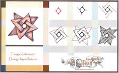 intersect by molossus who says life imitates doodles aka Sandra Strait