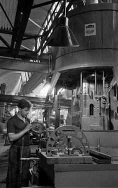Fábrica VW Wolfsburg, c 1951