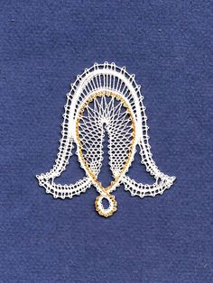 Bobbin Lace Patterns, Lacemaking, Lace Heart, Lace Jewelry, Needle Lace, Lace Detail, Butterfly, Brooch, Christmas