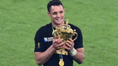 New Zealand win Rugby World Cup: Dan Carter hails victory Daniel Carter, Nz All Blacks, We Are The Champions, Rugby Players, Best Player, Real Man, World Cup, Sports, New Zealand