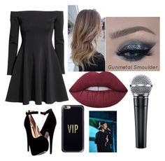 """""""Performance with Justin Bieber"""" by denisebrione on Polyvore featuring H&M, Lime Crime, Casetify, Justin Bieber, bieber, justin and performance"""