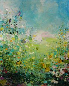 "Sandy Dooley's art is gorgeous! Saatchi Online Artist: Sandy Dooley; Acrylic, 2013, Painting ""After Rain (sold)"""