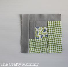Craftsy BOM 2013 January - log cabin {via TheCraftyMummy.com}  #quilting #BOM #logcabin