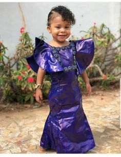 Children Fashion Dress African Prints New Ideas Baby African Clothes, African Dresses For Kids, African Maxi Dresses, Latest African Fashion Dresses, Dresses Kids Girl, African Print Fashion, African Prints, African Print Dress Designs, Kids Dress Wear
