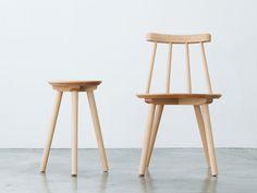 village chair by Drill design