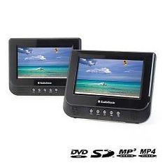 Reproductor DVD Portátil Doble 7   AudioSonic DV1823 8713016018236
