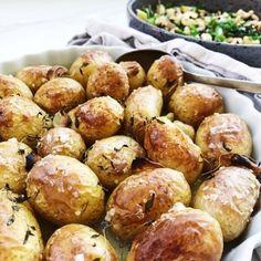 Græske kartofler med urter