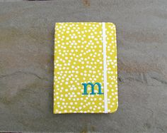 Personalized Yellow Kindle Cover