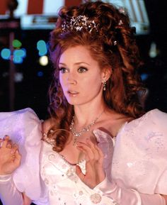 If I could be any celebrity it'd be Amy Adams. I mean, gorgeous, talented, and have you seen Enchanted?