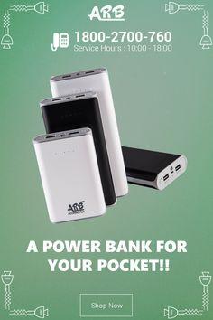 A powerbank for your pocket!!  Buy now - www.arbpowerbank.com