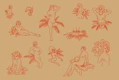 Illustration style (maybe non-naked)