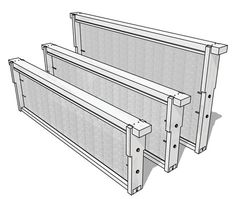 Vital Stats and Materials List for Langstroth Frames at dummies.com