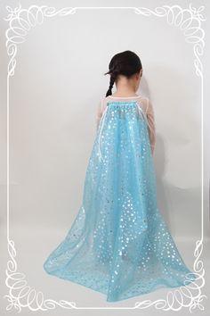 DIY Frozen Elsa Cape - Atelier GiGi / Disney Inspired Frozen Snow Queen Elsa Girl's Costume