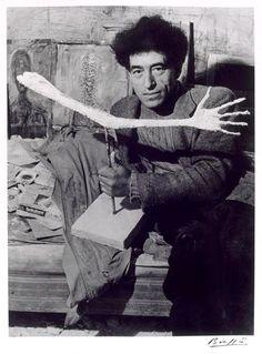 Alberto Giacometti, 1947 -by Brassaï