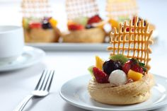 Fruit tarts #kkfood #desserts #hyattregencykinabalu #hyattrestaurants #food