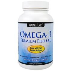EXTRA DISCOUNT on #iHerb Madre Labs Omega-3 Premium Fish Oil $6,96 OFF - Now $0,99 #RT Discount applied in cart
