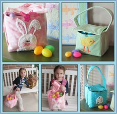 Want to be a super mom? Go above and beyond this Easter and make your own special Easter baskets for your kids! Choose colors and fabrics to personalize them for your kids and make this Easter even more fun. Download this pattern now and get started today!
