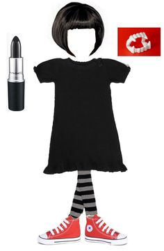 Mavis from Hotel Transylvania - an easy to assemble costume for your kid. Chloe 2015