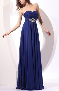 Chiffon Sweetheart Elegant Guest Dresses - Order Link: http://www.theweddingdresses.com/chiffon-sweetheart-elegant-guest-dresses-twdn7210.html - Embellishments: Beaded , Rhinestone , Pleated , Ruching; Length: Floor Length; Fabric: Chiffon; Waist: Empire - Price: 128.99USD