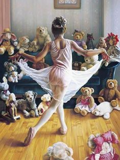 "@Shaylee Lore' do you remember when we put on a 'pupet show' for an audience of our stuffed animals? (""The Audition"" by Tom Sierak)"
