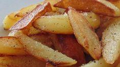 Salt and Pepper Skillet Fries | Allrecipes Potato Recipes, Vegetable Recipes, Fries Recipe, Potato Side Dishes, French Fries, Salt And Pepper, Skillet, Bacon