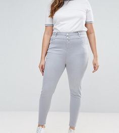 41fb12b1fa61c New Look Plus New Look Curve High Waist Skinny Jeans