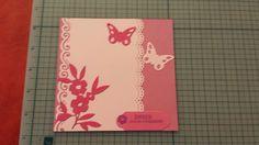 Carte anniversaire scrap - Birthday card
