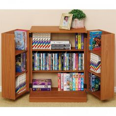Prepac Locking CD DVD Media Storage Cabinet In Oak/Black By Prepac.  $135.28. This Locking Media Storage Cabinet Keeps Modest Sized Collections  Safeu2026