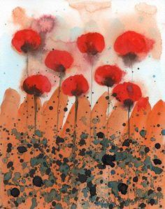 Original Watercolor by printmakerjenn