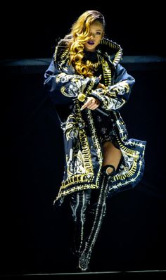 Givenchy designed Rihanna's Diamonds World Tour outfits