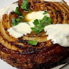 Smoked Bacon Wrapped French Vidalia Onion - this will be the best onion you will ever eat.  If not, darn close!  Cooking with Love & Passion sw :)