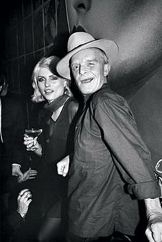 TRUMAN CAPOTE AND DEBBIE HARRY